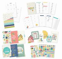 Simple Stories Carpe Diem - Home A5 Planner Insert Set