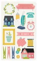 Simple Stories Carpe Diem - Home Domestic Bliss Doc-It Journal