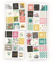 Simple Stories Carpe Diem - Planner Essentials Carpe Diem Insta Quote Stickers
