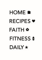 Simple Stories Carpe Diem Planner Essentials Planner Labels Black Planner Decal