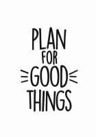 Simple Stories Carpe Diem Planner Essentials Good Things Black Planner Decal