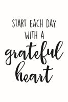 Simple Stories Carpe Diem Planner Essentials Grateful Heart Black Planner Decal