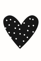 Simple Stories Carpe Diem Planner Essentials Heart Black Planner Decal