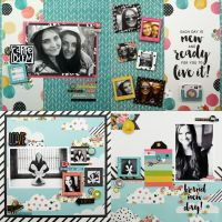Simple Stories Carpe Diem 12x12 Two Double Page Layout Kit