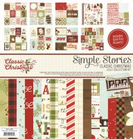 Simple Stories Classic Christmas Collection Kit