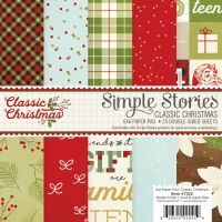 Simple Stories Classic Christmas 6x6 pad