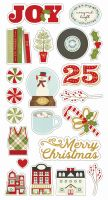 Simple Stories Classic Christmas 6x12 Chipboard