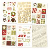 Simple Stories Classic Christmas Stickers