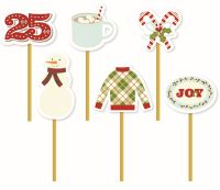 Simple Stories Classic Christmas Decorative Clips