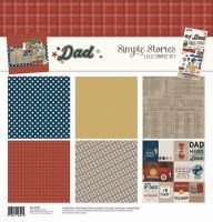 Simple Stories Dad Simple Set 12x12 Collection Kit