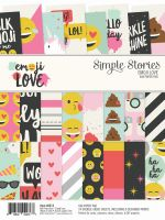 Simple Stories Emoji Love 6x8 Pad