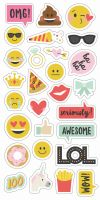 Simple Stories Emoji Love 6x12 chipboard
