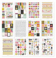 Simple Stories Carpe Diem - Emoji Love Sticker Tablet