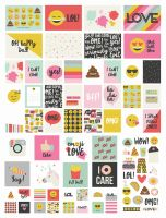 Simple Stories Emoji Love SN@P! Pack