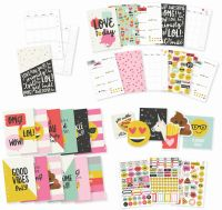 Simple Stories Carpe Diem - Emoji Love A5 12 Month Planner Insert Set
