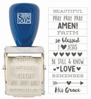 Simple Stories Carpe Diem - Faith Roller Stamp