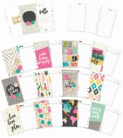 Simple Stories Carpe Diem - Good Vibes Personal Monthly Planner Inserts