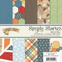 Simple Stories Hello Fall 6x6 pad