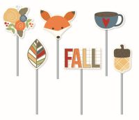 Simple Stories Hello Fall Decorative Clips