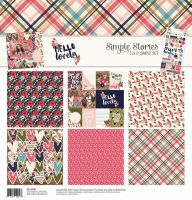 Simple Stories Hello Lovely Simple Set Collection Kit