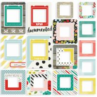 Simple Stories Life in Color Chipboard Frames