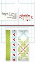 Simple Stories Mistletoe Kisses Washi Tape
