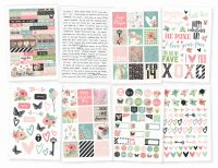 Simple Stories Romance 4x6 Stickers