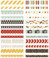 Simple Stories Say Cheese II Washi Paper Tape
