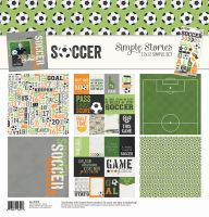 Simple Stories Soccer Simple Set 12x12 Collection Kit