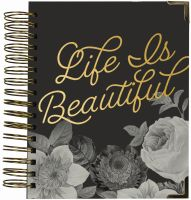 Simple Stories Carpe Diem - Beautiful 16 Month Weekly Spiral Planner