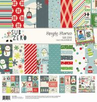 Simple Stories Sub Zero 12x12 Collection Kit