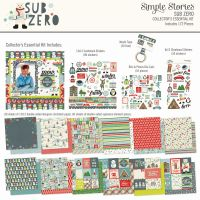 Simple Stories Sub Zero 12x12 Collector's Essential Kit