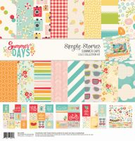 Simple Stories Summer Days 12x12 Collection Kit