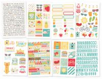 Simple Stories Summer Days 4x6 Stickers