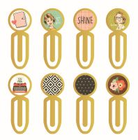 Simple Stories The Reset Girl Epoxy Metal Clips
