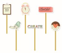 Simple Stories The Reset Girl Decorative Clips