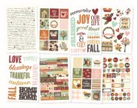 Simple Stories Vintage Blessings 4x6 Stickers