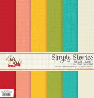 Simple Stories We Are… Family 12x12 Simple Basics Kit