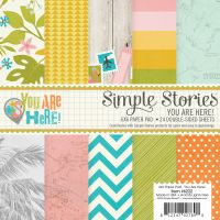 Simple Stories You Are Here! 6x6 pad