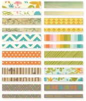 Simple Stories You Are Here! Washi Paper Tape