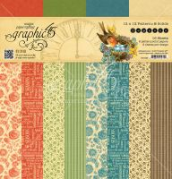 Graphic 45 Seasons 12x12 Patterns & Solid Pad