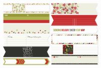 Simple Stories DIY Christmas Envelope Wraps