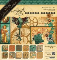 Graphic 45 Steampunk Debutant - Deluxe Collectors Edition
