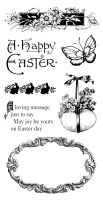 Graphic 45 Cling Stamp Sweet Sentiments 3