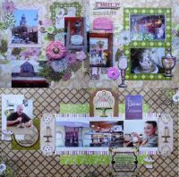 FotoBella Designer Layout Kit Featuring Bo Bunny Sweet Moments