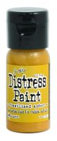 Tim Holtz Distress Paints 1oz. Flip Cap - Fossilized Amber