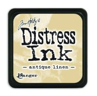 Tim Holtz Distress Mini Ink Pads - Antique Linen by Ranger