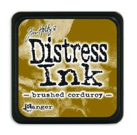 Tim Holtz Distress Mini Ink Pads - Brushed Corduroy by Ranger