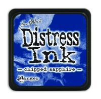 Tim Holtz Distress Mini Ink Pads - Chipped Sapphire by Ranger