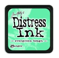 Tim Holtz Distress Mini Ink Pads - Evergreen Bough by Ranger